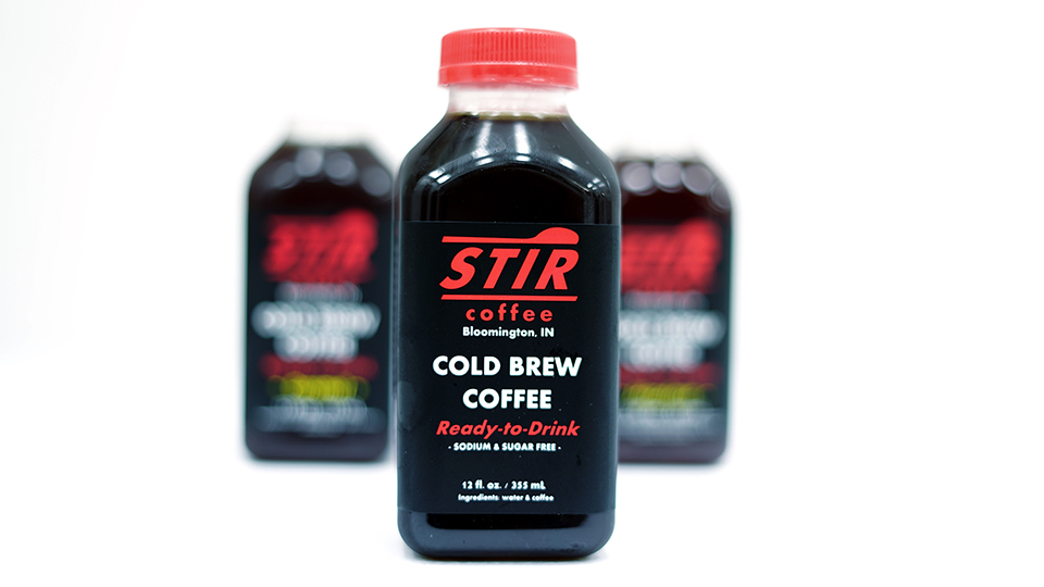 Stir packaging product photo